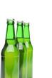 Three bottles of light beer