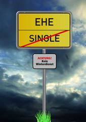 Single, Ehe, Bindung, Paar, Gewitter, Ärger,