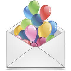 вектор сюрприз в конверте