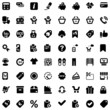 shopping iconset black