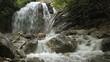 Waterfall  in Crimea, Ukraine .