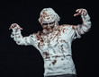 mummy in the dark