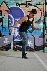 breakdance dancer