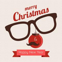 Christmas hipster