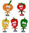 Légumes rigolos