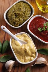 senape ed altre salse