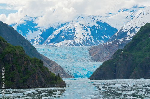 Fotobehang Gletsjers Sawyer Glacier