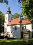 old church of Saint Salvator in Krakow poster