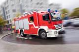 Fototapety Feuerwehrauto