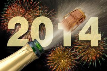 Neujahr Sylvester Silvester 2014