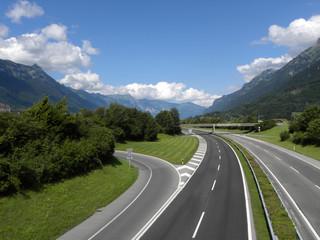 Leere Autobahn (empty Autobahn)