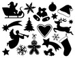 Set of Christmas Symbols