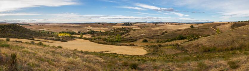 Panorama de Paisaje de Secano