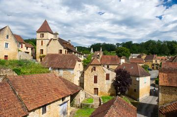 French village in Perigord