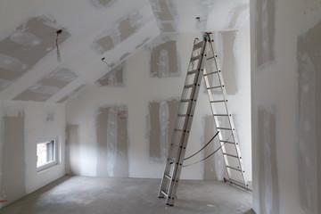 Dachgeschossausbau mit Leiter