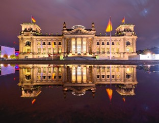 Reichstag Parliament Building in Berlin, Germany