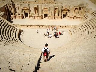 Jerash Anfiteatro romano Giordania