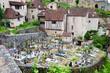 French cemetery in Saint-cirq-Lapopie