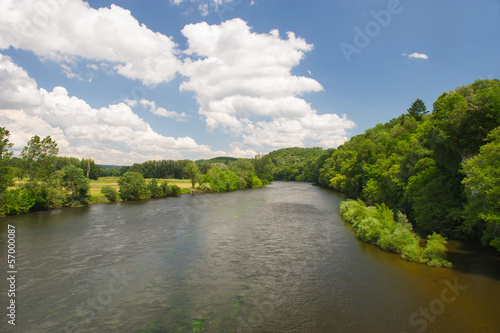 River the Dordogne