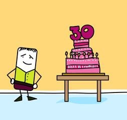Joyeux anniversaire - 30 ans