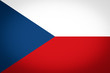Czech Republic flag vignetted