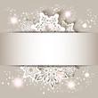 Obrazy na płótnie, fototapety, zdjęcia, fotoobrazy drukowane : Christmas Star Snowflake Greeting Card