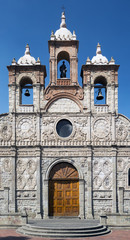 Riobamba Cathedral in Ecuador