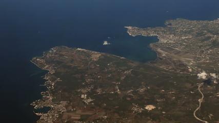 Portoroz, Piran  Izola  Adriatic sea  aerial