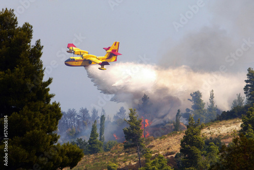 Firefighter Airplane