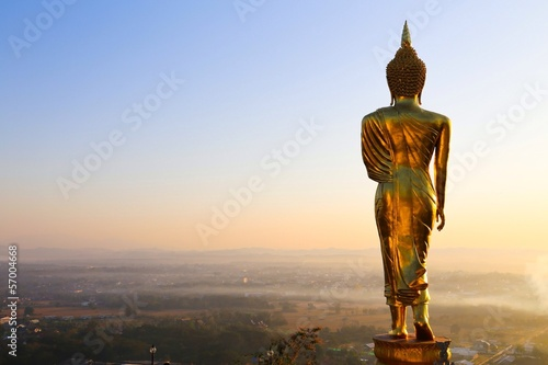 golden buddha from nan thailand