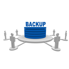 backup, cloud, datenbank,