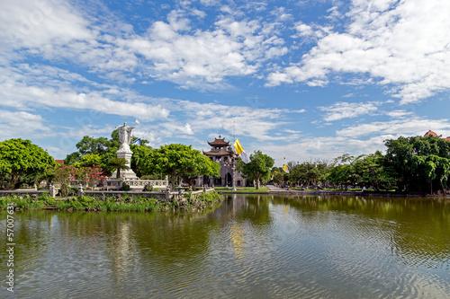 Foto op Plexiglas Indonesië Phat Diem cathedral in Ninh Binh, Vietnam