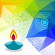 colorful diwali festival