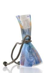 100 Franken Schnur