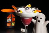 Halloween drinks - Raspberry Vanila Daiquiri
