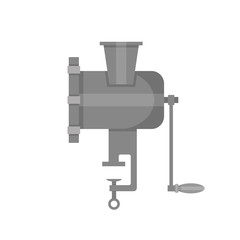 Illustration of a grinder isoleted on a background