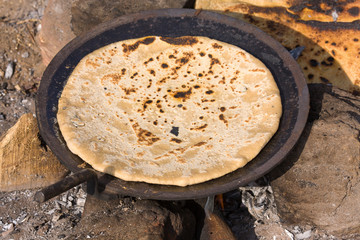 Indian chapatti