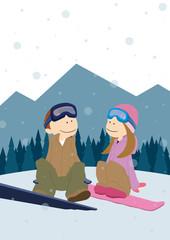 Couple_Snowbording