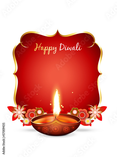 vector diwali greeting