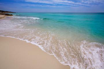 Formentera es Mitjorn beach turquoise