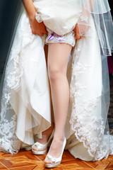 bride leg