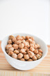 chickpeas in a bowl