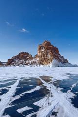 landscape of Lake Baikal