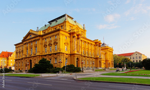 Croatian National Theater, Zagreb