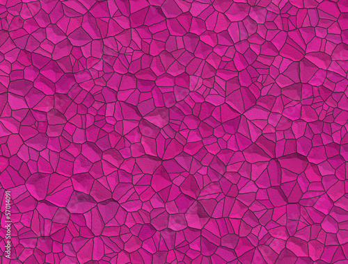Abstract background with tiles in pink