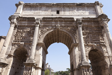 Arco de Septimio Severo. Foro de Roma