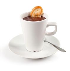 Cioccolata con biscotto