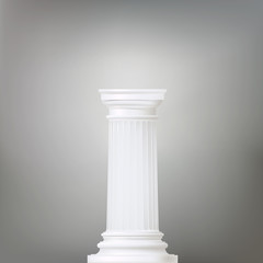 background with classic column