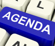 Agenda Key Means Schedule Or Outline.
