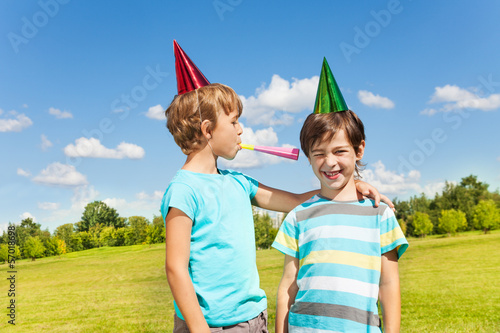 Birthday party noise